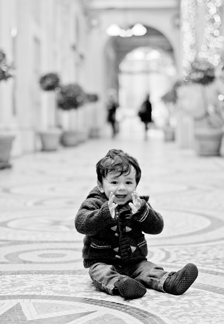 On Location: Baby Portraits in Paris